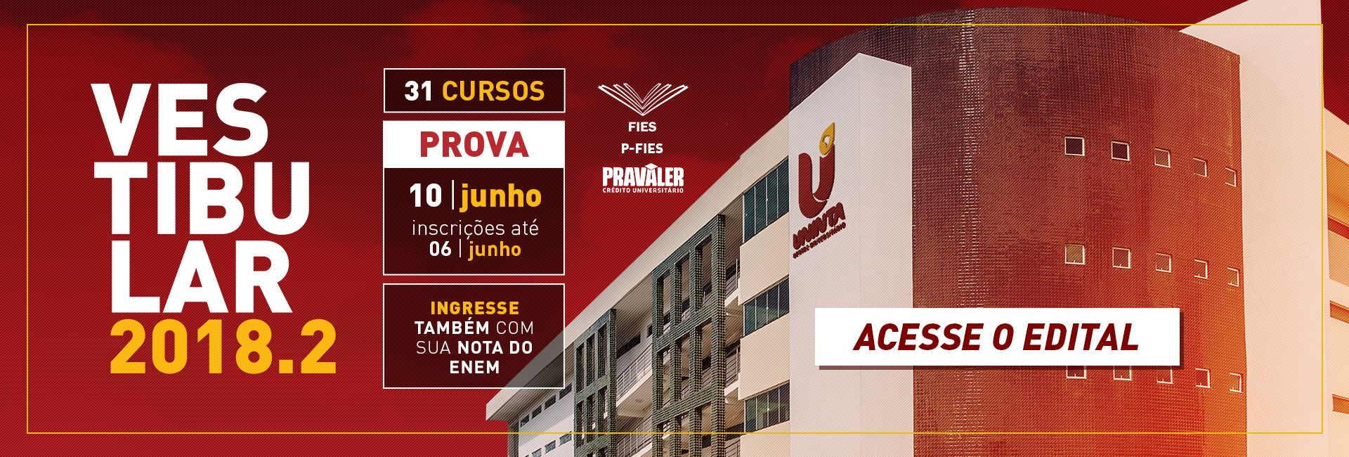 Resultado de imagem para UNINTA lança Processo Seletivo 2018.2