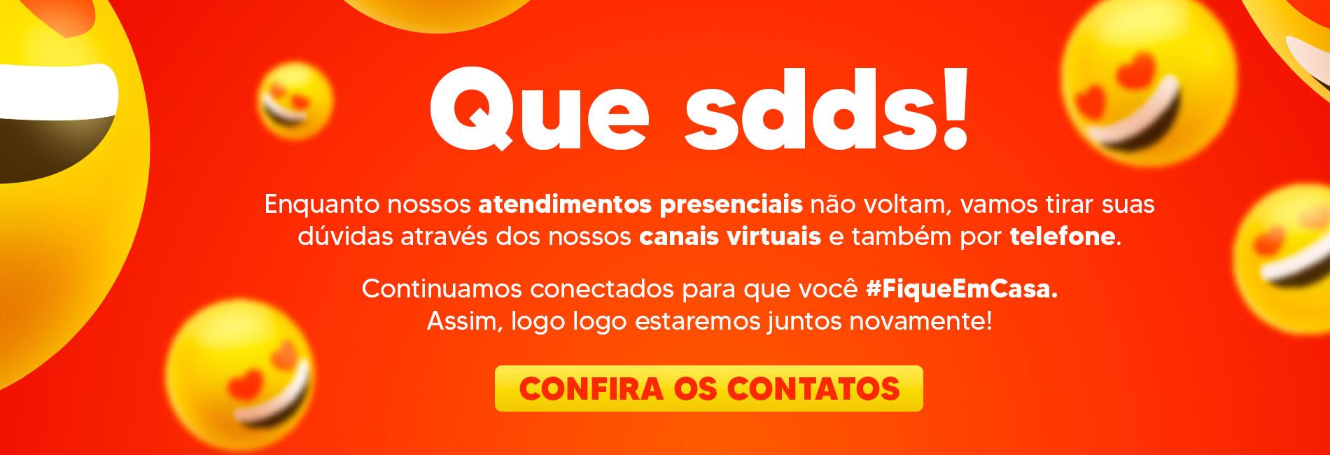 Confira nossos canais virtuais - #FiqueEmCasa