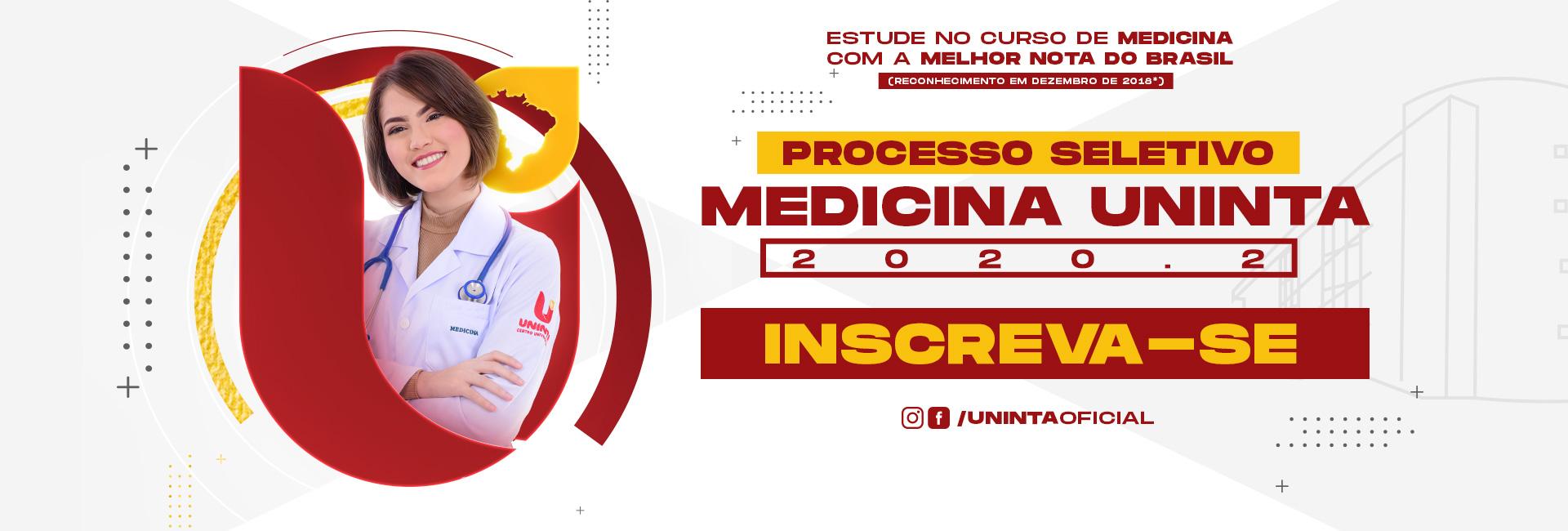 Processo Seletivo Medicina UNINTA - Inscreva-se agora!