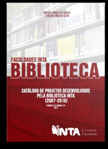 Capa do Catálogo de Projetos da Biblioteca - 2007 a 2015-01