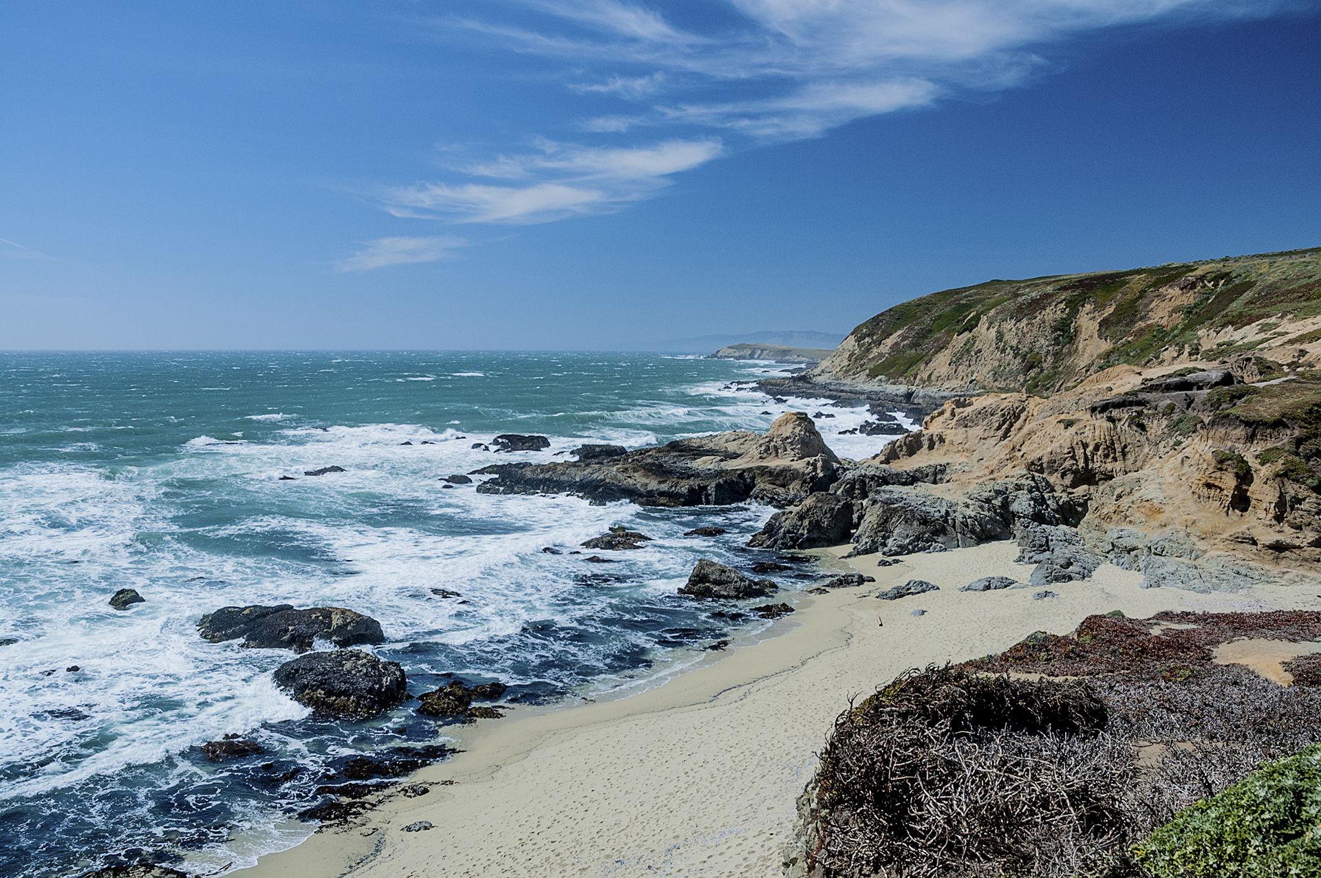 Goat Rock Beach, Jenner, Califórnia