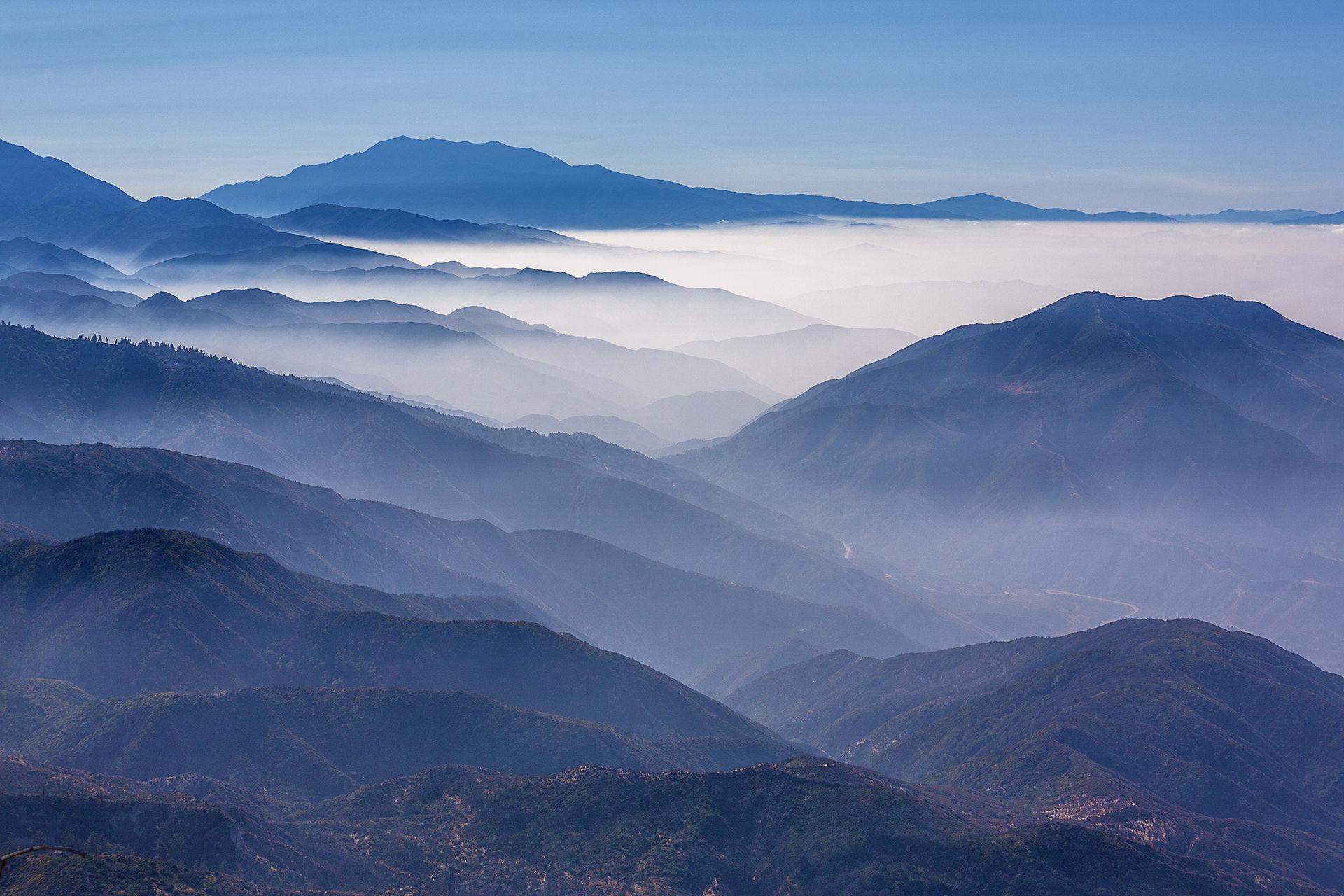 Montanhas de San Bernardino, Califórnia