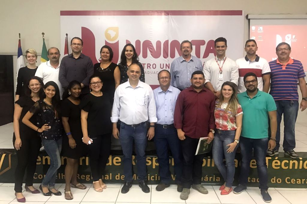 Conselho de Medicina Veterinária realiza seminário no UNINTA
