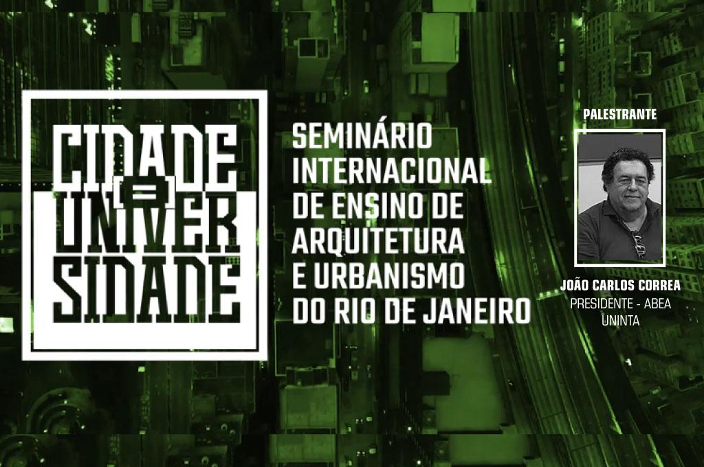 UNINTA no I Seminário Internacional de Ensino de Arquitetura e Urbanismo