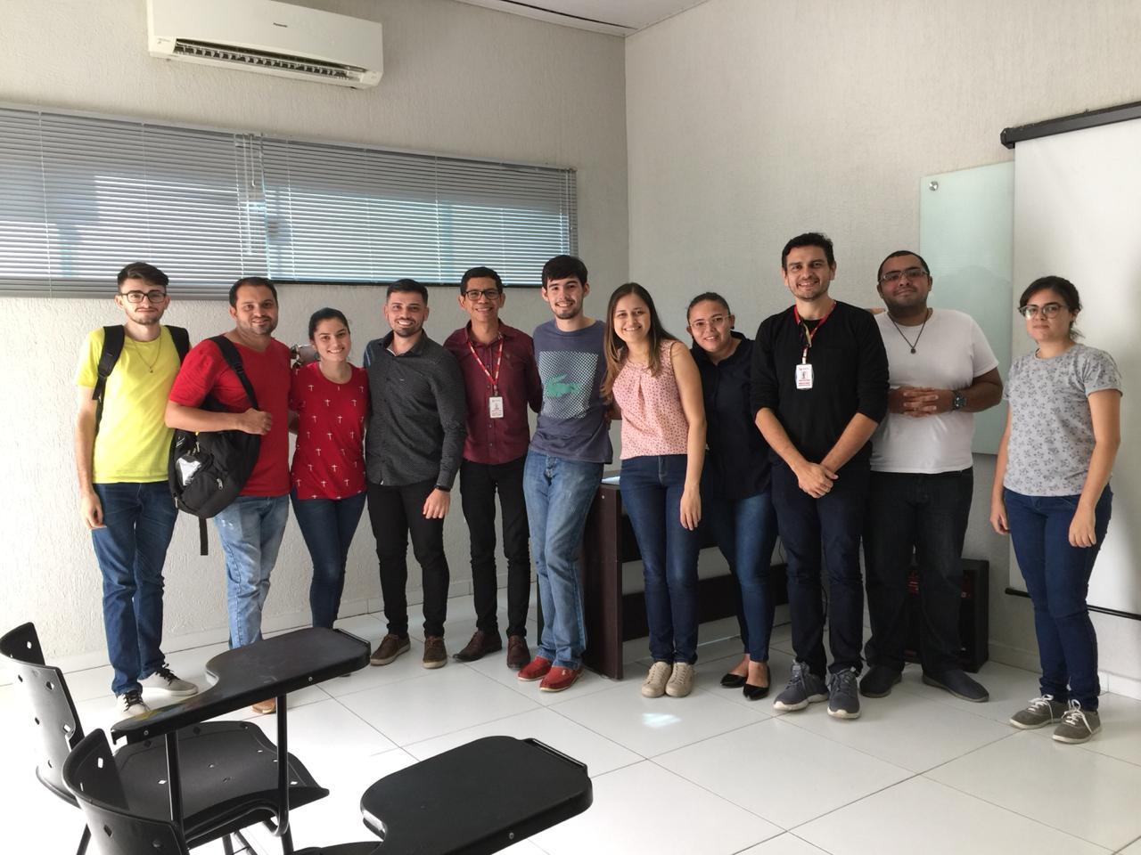 Reunião dos alunos do Mestrado em Biotecnologia no dia 22-03-2019