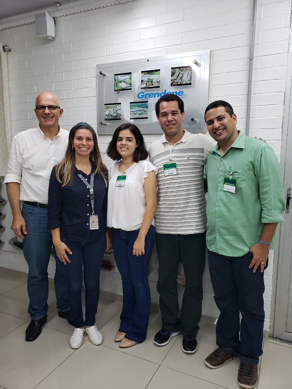 Reunião de parceria o Mestrado em Biotecnologia a empresa Grendene em 21-03-2019