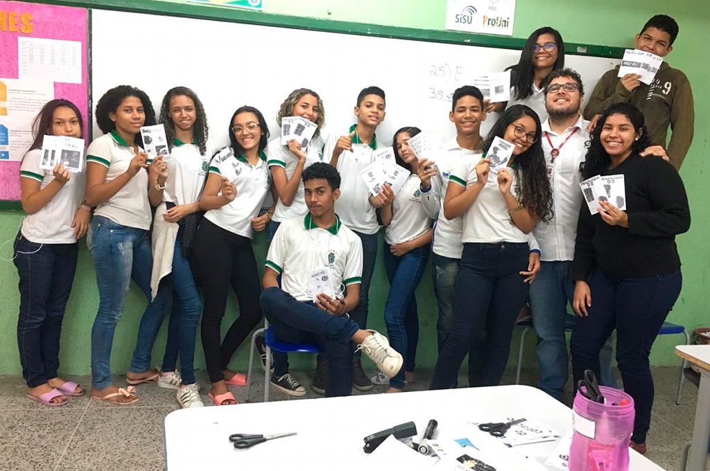 Projeto do curso de Jornalismo expande atendimento para mais uma escola pública