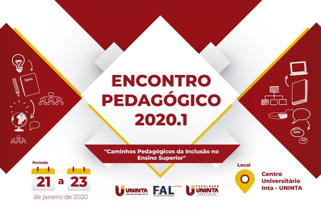 Encontro Pedagógico 2020.1: Programação traz palestras com educadores e workshops