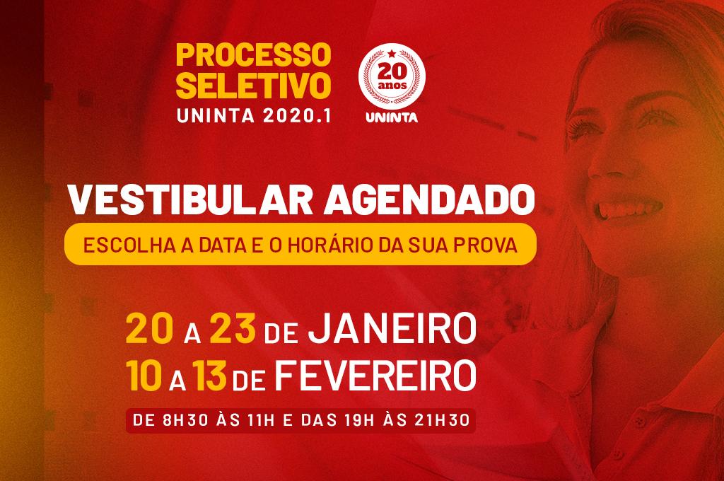 UNINTA e FNT Sobral estão com inscrições abertas para o Processo Seletivo Agendado 2020.1