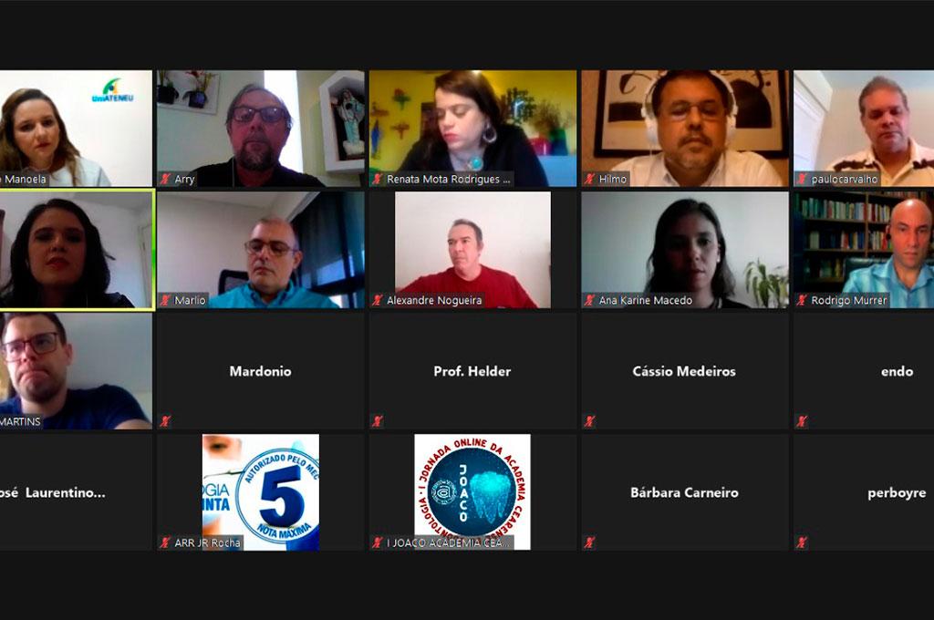 Em formato virtual, Coordenador de Odontologia do UNINTA participa da I JOACO, da Academia Cearense de Odontologia