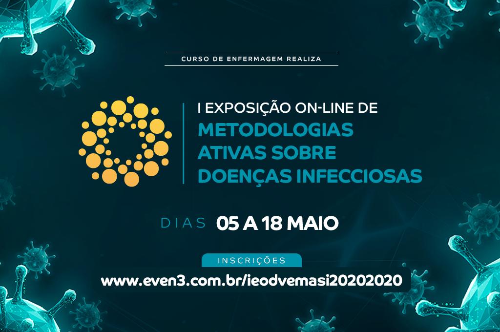 Enfermagem do UNINTA promove I Exposição on-line de Metodologias sobre Doenças Infecciosas para abordar COVID-19