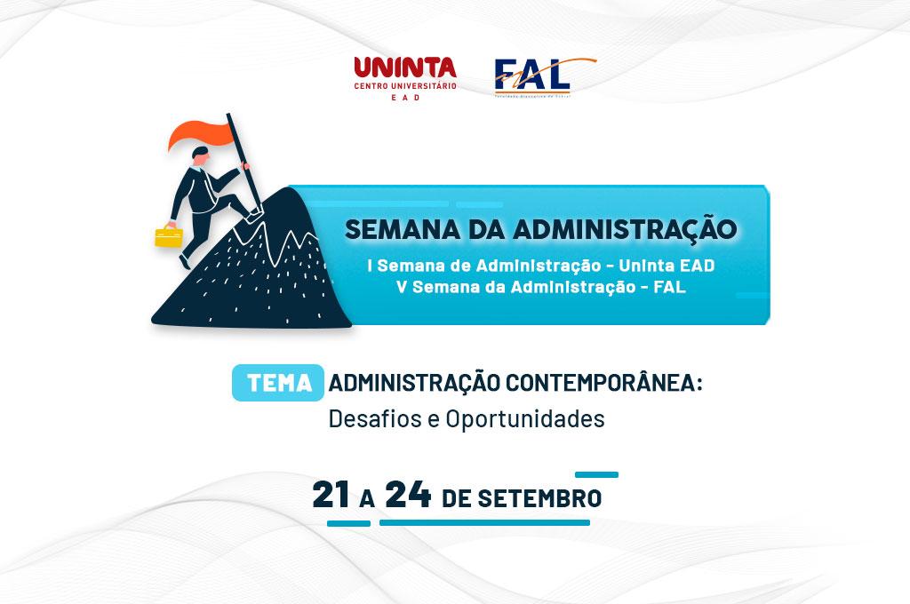 UNINTA EaD promove Semana da Administração 2020