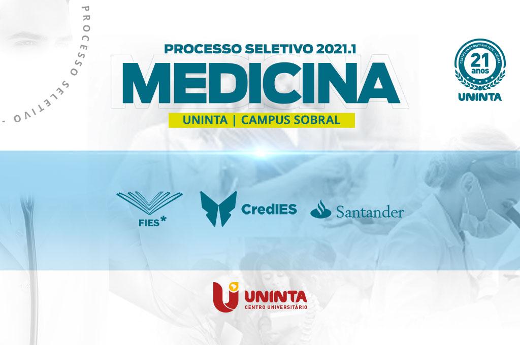Medicina UNINTA disponibiliza mais de 20 vagas com financiamento; inscrições estão abertas