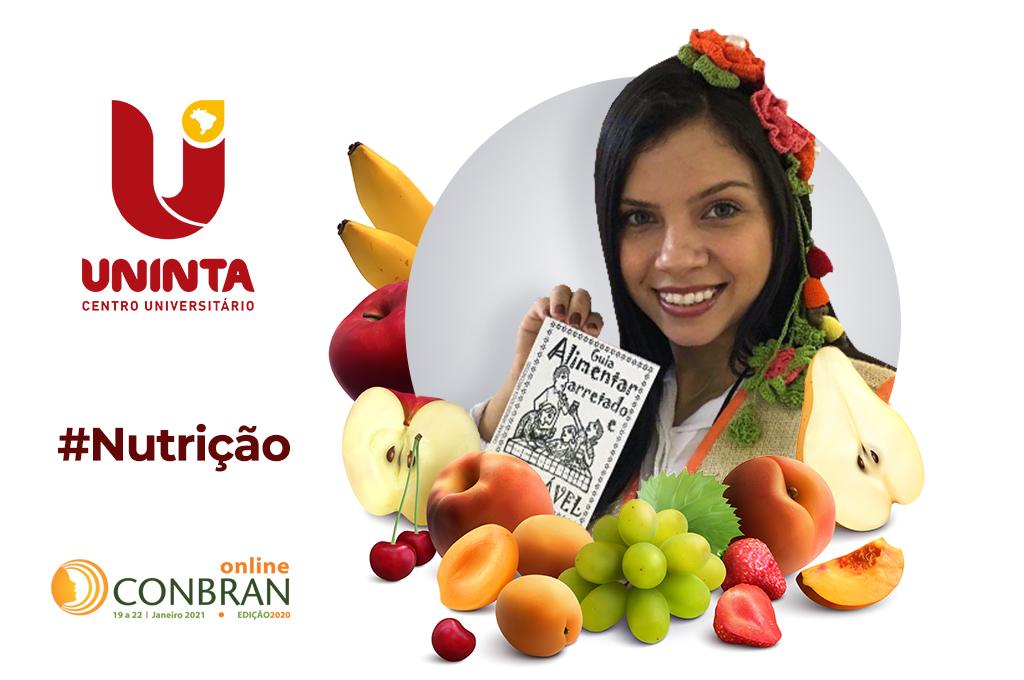 Egressa do Curso de Nutrição do UNINTA é destaque no XXVI CONBRAN
