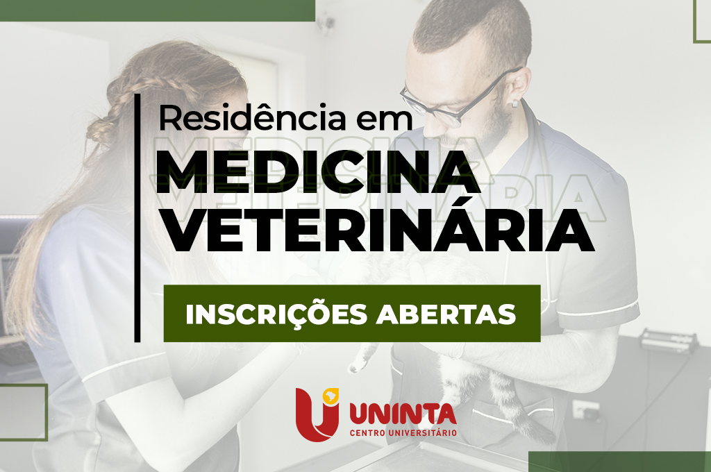 Residência em Medicina Veterinária no UNINTA: Inscrições abertas