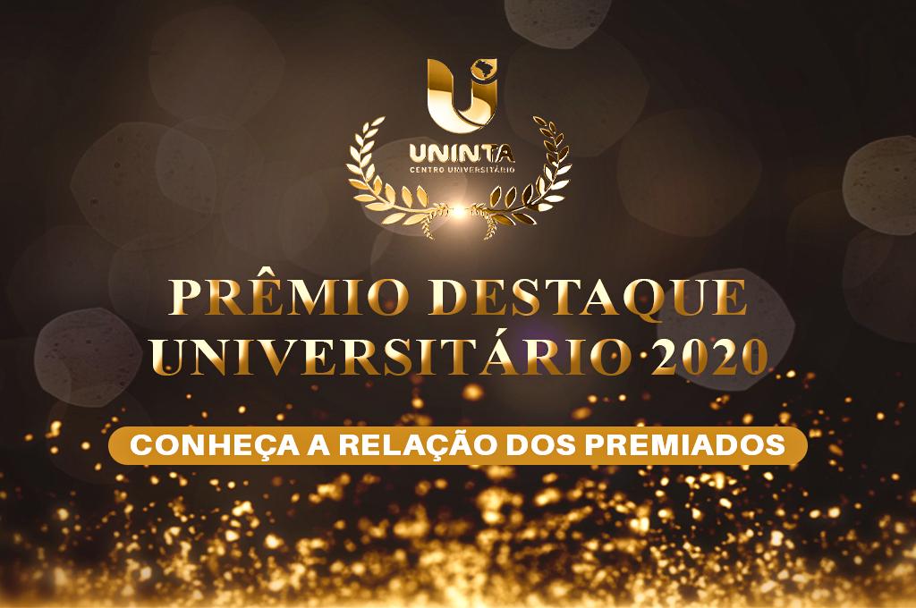 Cerimônia de divulgação dos ganhadores do III Prêmio Destaque Universitário aconteceu nessa quinta-feira (29); Veja todos os classificados