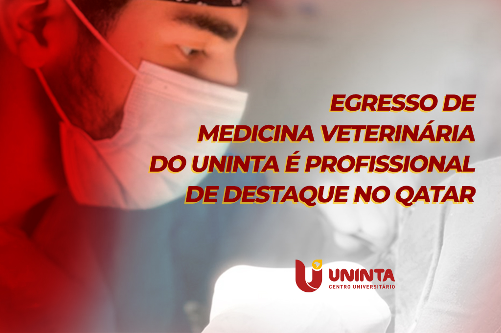 Egresso de Medicina Veterinária do UNINTA é profissional de destaque no Qatar