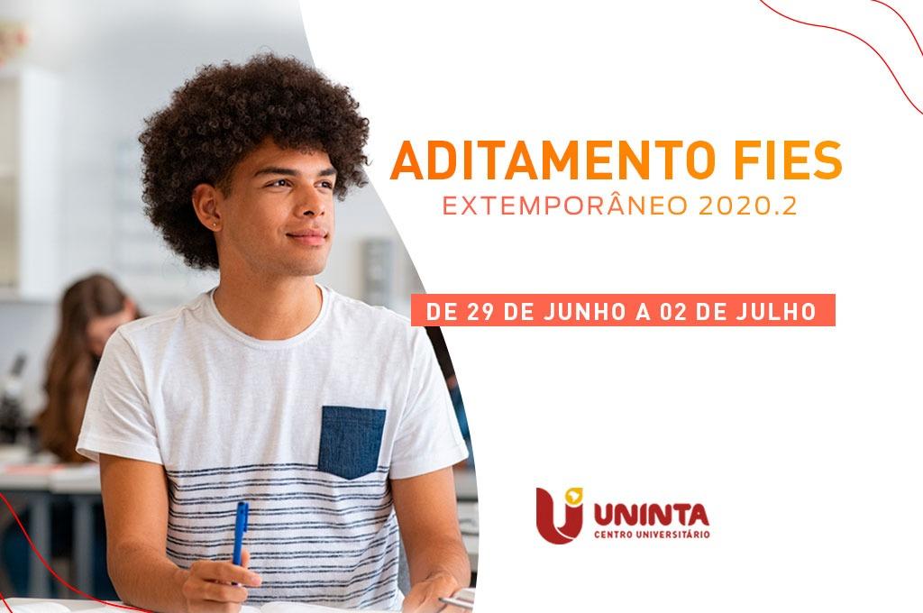 FIES: Período de aditamento extemporâneo para contratos de 2020.2 começa amanhã, 29 de junho