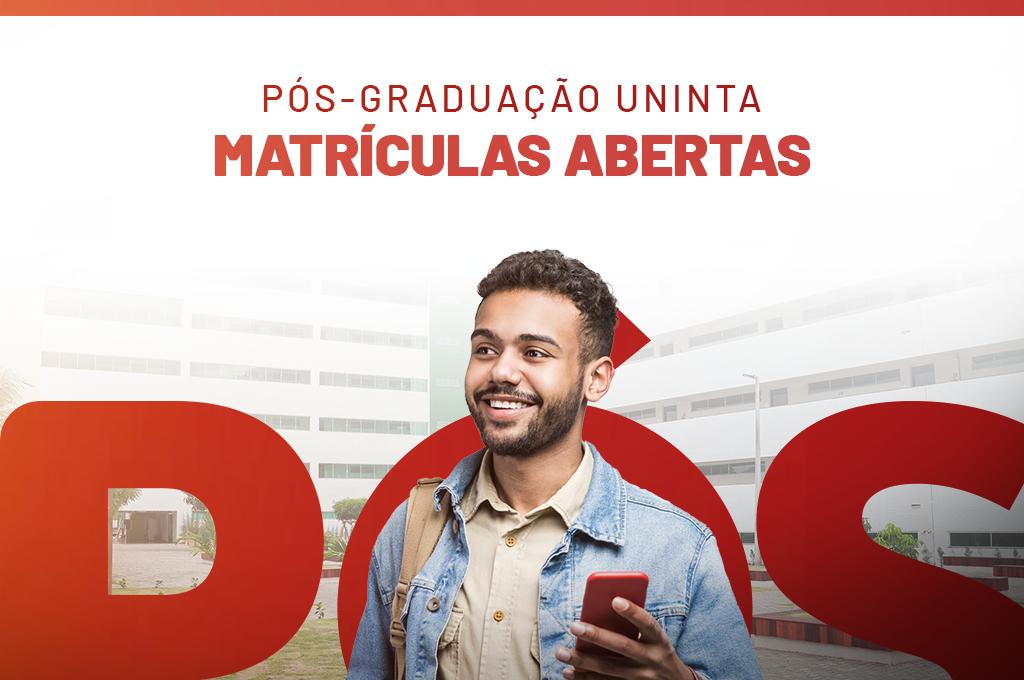 Pós-graduação UNINTA: matrículas abertas para especializações nas áreas de saúde, humanas e exatas