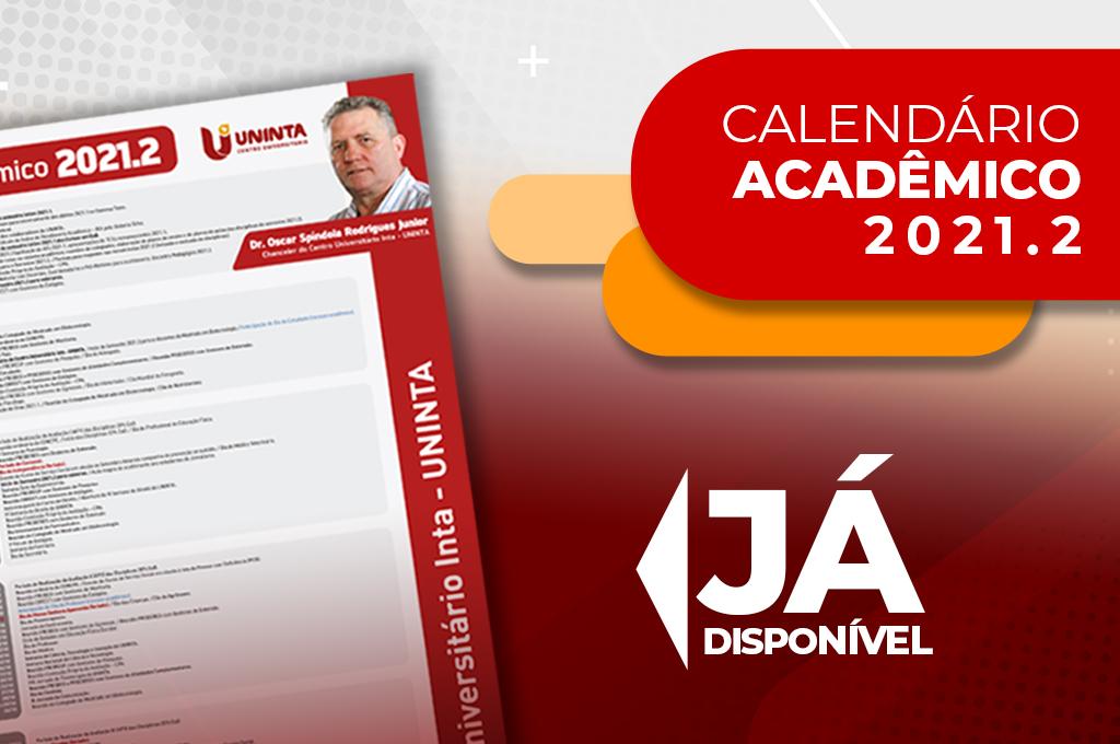 UNINTA divulga Calendário Acadêmico do semestre 2021.2