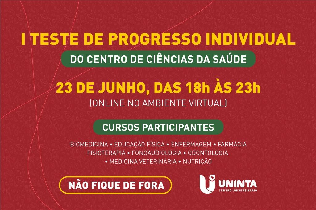 UNINTA realiza o I Teste de Progresso Individual para discentes dos cursos do Centro de Ciências da Saúde