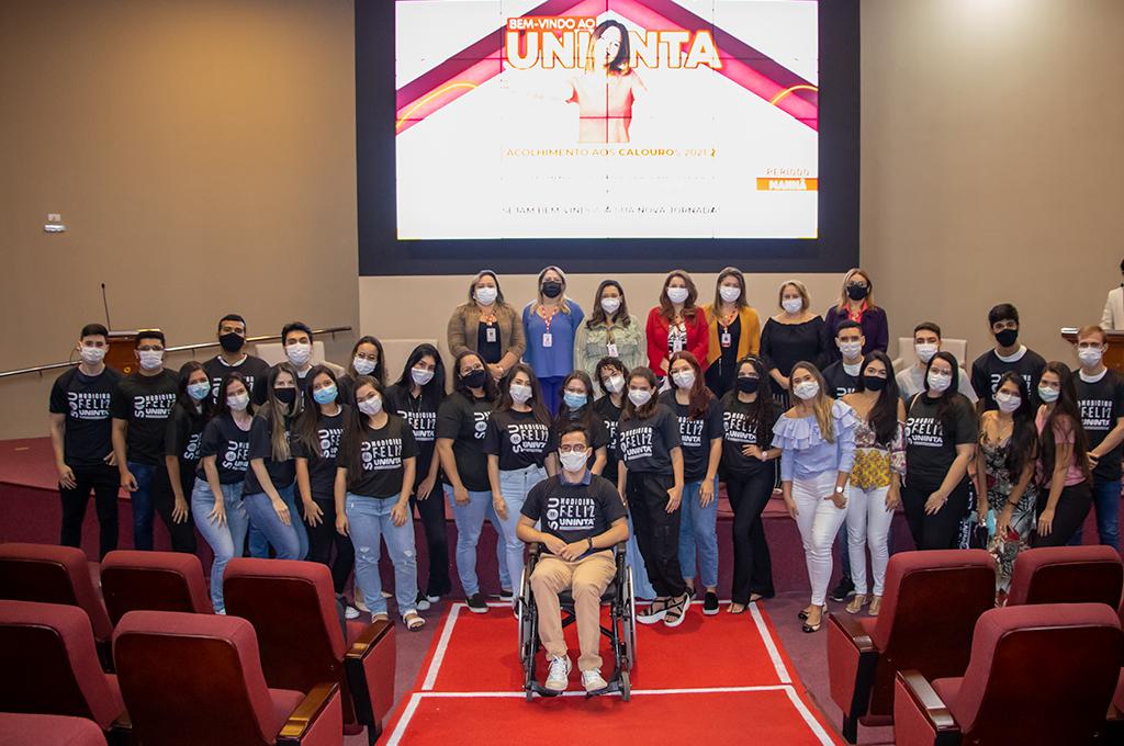 UNINTA acolhe os novos estudantes para o segundo semestre de 2021