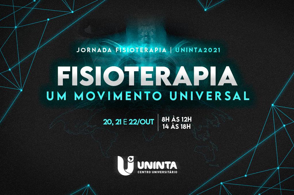 Jornada de Fisioterapia do UNINTA 2021: inscrições estão abertas